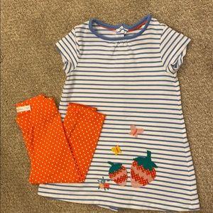 Baby Boden tunic & Capri set, 12-18 months